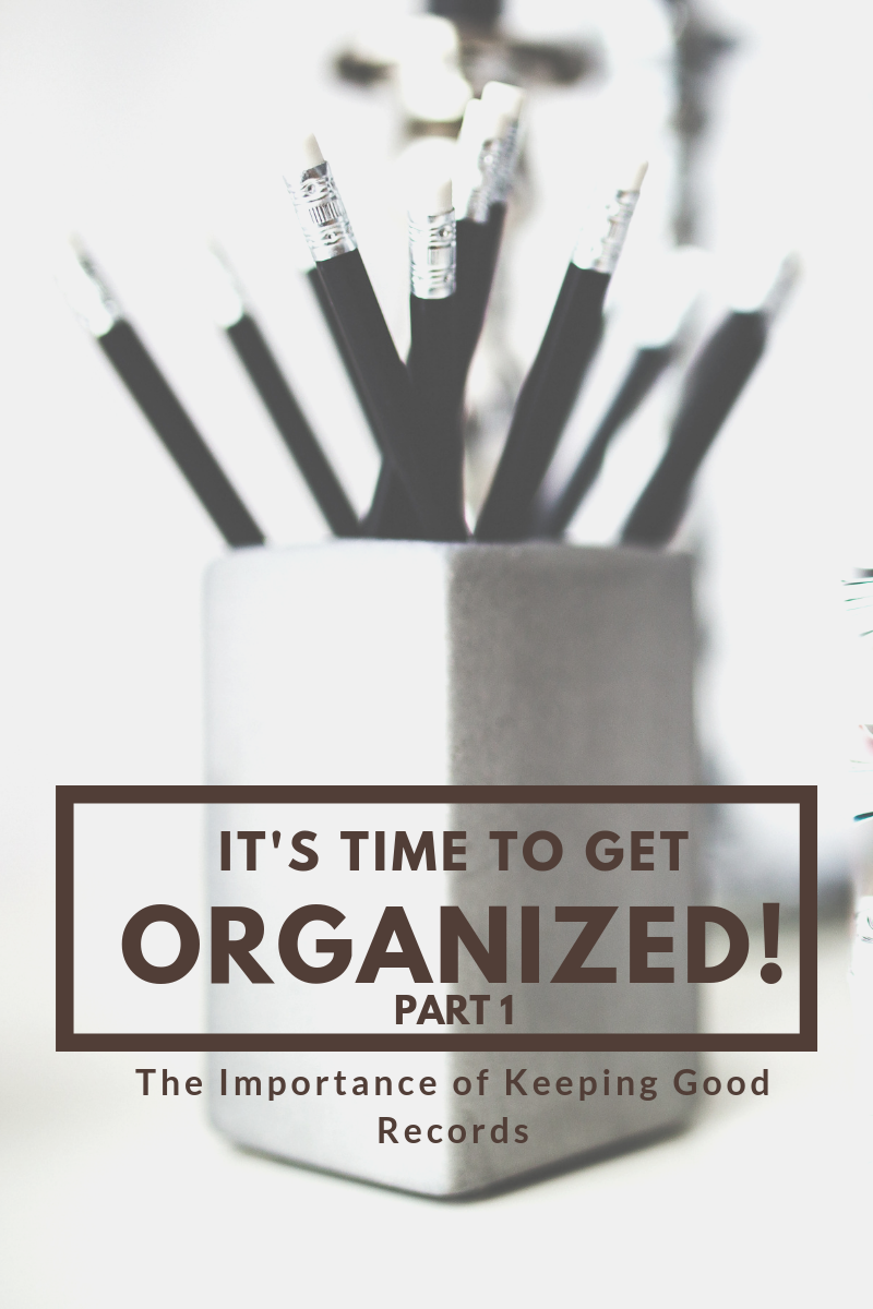 Get Organized! Part One