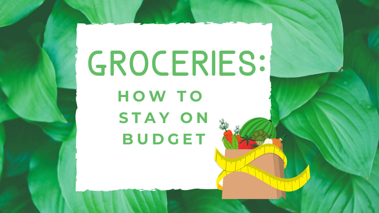 Groceries: How to Stay on Budget