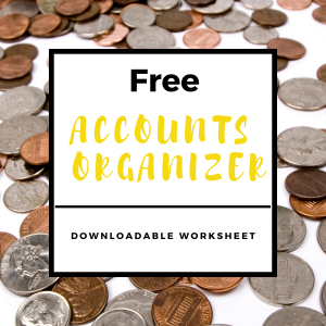 Accounts Organizer