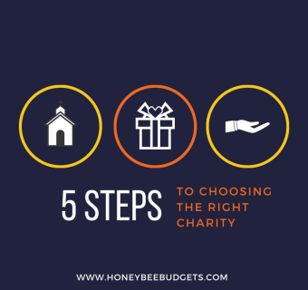 5 Steps  To Choosing the Right Charity