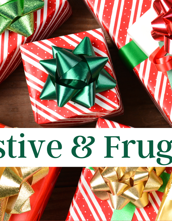 Festive & Frugal:  How to Spend Wisely  on Holiday Shopping